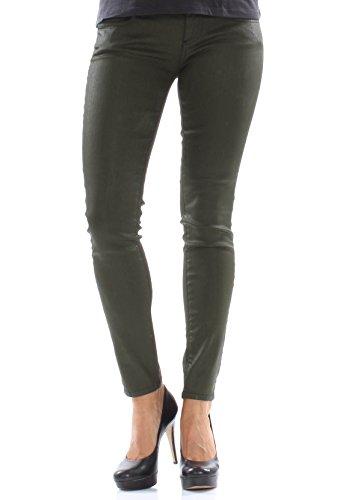 LTB Jeans Women MINA Khaki Coated Wash, Hosengröße:26