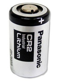 Vitamed Folienbeutel bestückt mit 10x Panasonic Industrial CR 2 Photo Batterie mit 750 mAh