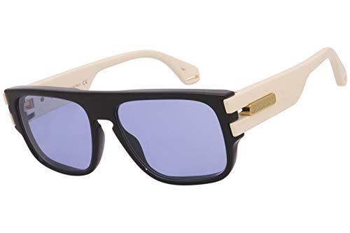 Gucci gafas de sol GG0664S 002 gafas de Hombre de Marfil color azul tamaño de la lente de 58 mm