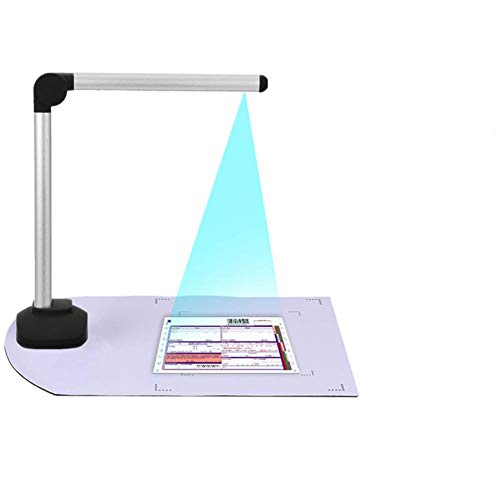 Portable High Speed USB Book Image A4 Document Camera Scanner With 8.0MP Camera School Office Library Bank HD High-Definition