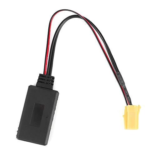 Qiilu Adaptador de Audio Bluetooth, Adaptador de Audio de 6 Pines Conector de Radio Bluetooth 5.0 Apto para Alfa Romeo 159