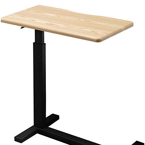 DPPD High-Density Sheet Laptop Tisch Abnehmbarer Nachttisch Lazy Bed Table Einfacher Sofa Beistelltisch Home Kleiner Tisch mit versteckter Riemenscheibe - zum Lernen von Office Entertainment, HOL