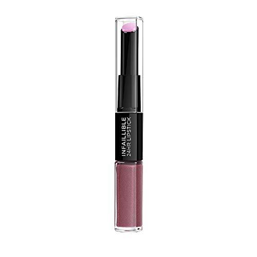 L'Oreal Paris Lippen Make-up Infaillible Lippenstift, 209 Violet Parfait /Liquid Lipstick für 24...