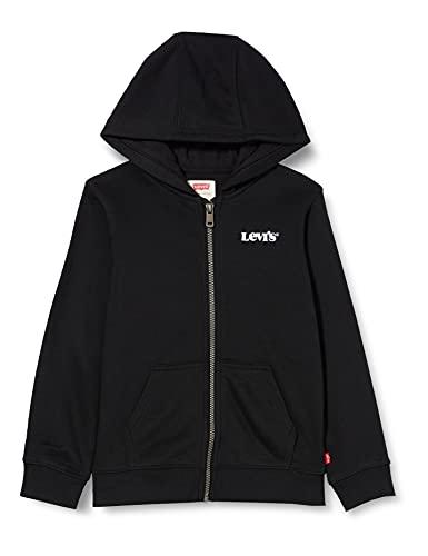 Levi's Kids LVB BASIC FZ HOODIE C947 Hooded Sweatshirt, BLACK, 12 ans Boys