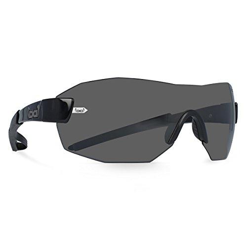 Gloryfy unbreakable eyewear (G11 Radical black) - Unzerbrechliche Sonnenbrille, Sport, Rahmenlos, Damen, Herren, Schwarz