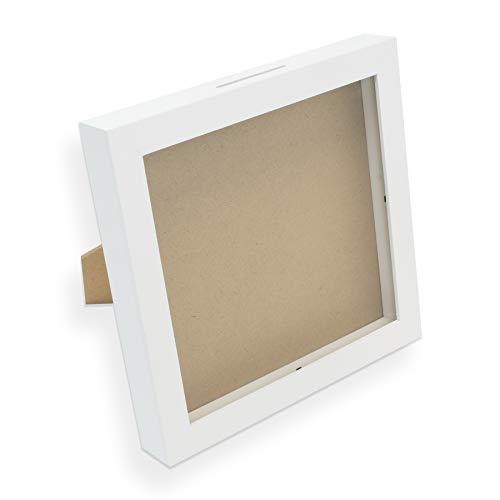 Idenga Marco de fotos, regalo para dinero, hucha con cupón, paquete de regalo, para manualidades y decoración