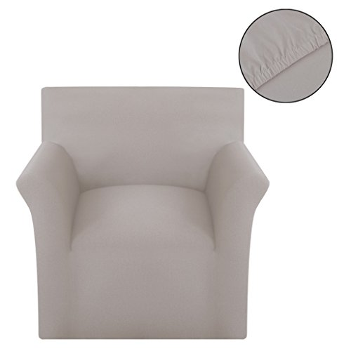 vidaXL Sofahusse Jersey Sofabezüge Universal Stretchhussen Sesselbezug Baumwolle