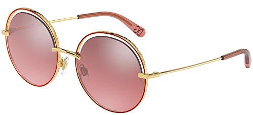 Sonnenbrillen Dolce & Gabbana DG 2262 GOLD RED/RED 58/17/140 Damen