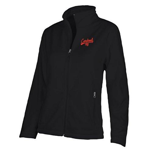 NCAA Louisville Cardinals W Luxe Jacket, Small, Black