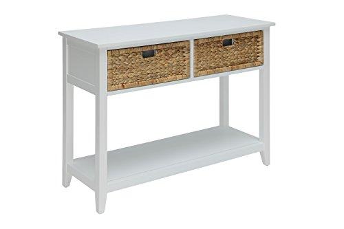 Acme Furniture ACME Flavius White Console Tabl