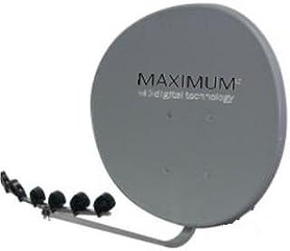 Maximum T de 85 Sat Antena Mult ifocus Acero T85: Amazon.es ...