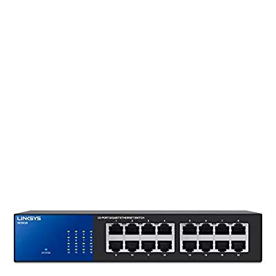 Linksys SE3016 16-Port Gigabit Switch