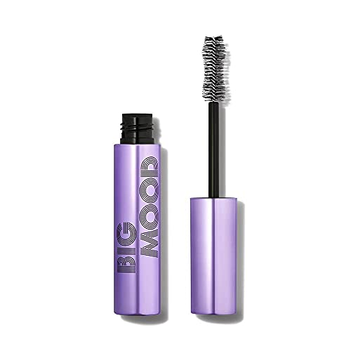 e.l.f. Big Mood Mascara, Bold Volume & Instant Lift, Creates Long-Lasting Voluminous Lashes, Infused with Jojoba Wax, Black, 1.1 Oz (10mL)