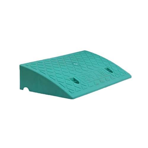 Rampas Familiares de Servicio de Garaje, rampas for bordillos de Silla de Ruedas de Bicicleta Almohadilla Vertical de plástico Rampas for escalones en Carretera Altura: 7-13 cm