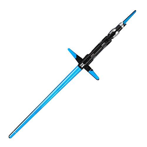 Xbd Espada Laser Star Wars 2 en 1,Sable de Luz Electrónico,Sable de luz,retráctil,con Efectos de luz y Sonido