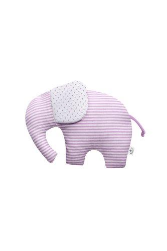 Bellybutton Kids 1172500-90619 Knistertier-Elefant, rosa gestreift