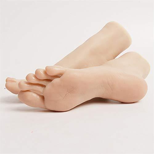 Foot Fetishes,Piede Giocattolo Ultimi sviluppi dei vasi sanguigni visibili 2019 Silicone Mannequin Piede Piede Fetish 36A Ragazza Piede Modello Caviglia Hobby - Piede Cultura Art Modello.