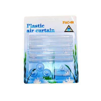 Kakiyi Plastic Air Curtain - Set de acuario de plástico con burbujas y tiras de ventilación