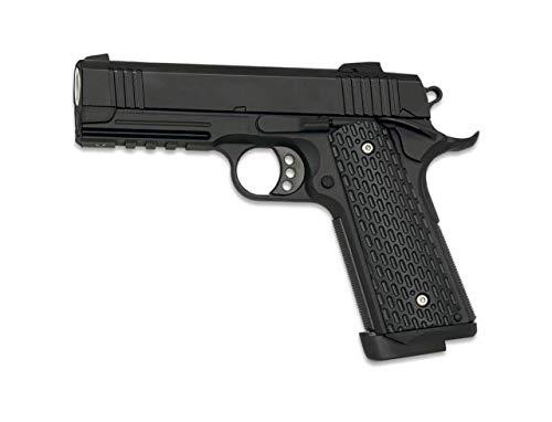 Golden Eagle 38365 Pistola Arma Airsoft 3309. Co2 Potencia 0,50 Julios Accesorio para prácticar Deporte de Airsoft + Portabotellas de...