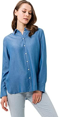 BRAX Damen Style Victoria Bluse, Indigo, 40