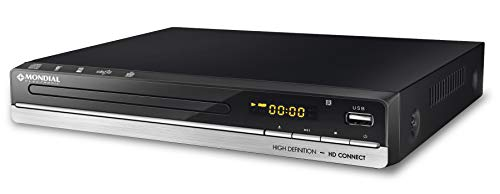 Mondial 6014-01, DVD Alta Definição D-18 127 - 220V, Preto