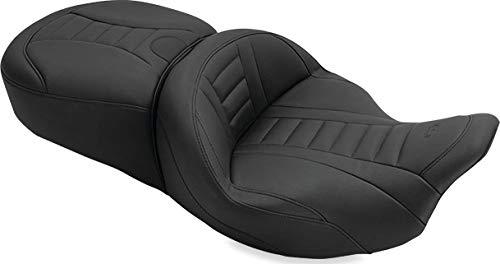 Mustang Motorcycle Seats 79006 Black Front Width: 19' / Rear Width 14' Motorcycle Seat