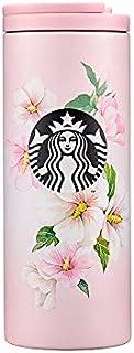 Starbucks スターバックス 2021 SS ステンレス 韓国 無窮花 ムグンファ ムクゲ トロイ タンブラー SS rose of sharon troy tumbler 355ml 海外限定品 日本未発売 スタバタンブラー