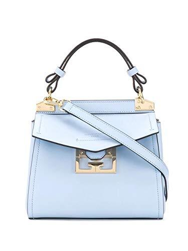 Luxury Fashion | Givenchy Dames BB50C3B0LG487 Blauw Leer Handtassen | Lente-zomer 20