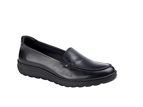DIAN – Dynamic-27 Damen-Schuh aus Leder, Schwarz, Schwarz - Schwarz - Größe: 36 EU