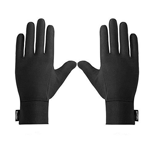 N-B Guantes para correr, con pantalla táctil, antideslizantes, impermeables y forro polar, para invierno, para ciclismo, conducción, deportes, hombres y mujeres
