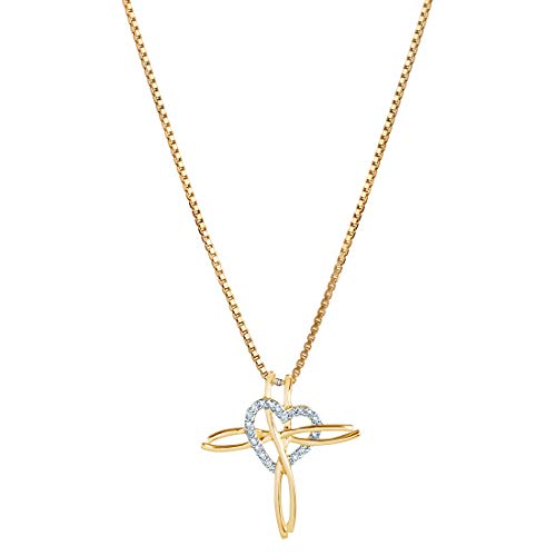 Elegant Diamond Cross Pendant - 7