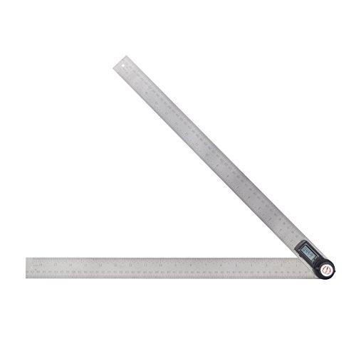 GemRed 82305 Stainless Steel Digital Protractor (500mm)