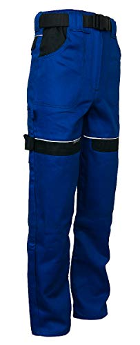 Damen Arbeitshose Sicherheitshose Bundhose Funktionshose Baumwolle(CT-PAS-N) (54)