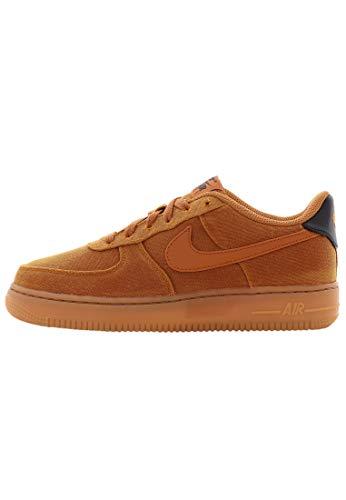 Nike Air Force 1 Lv8 Style (GS), Scarpe da Fitness, Multicolore/Marrone Medio/Nero (Multicolor Monarch Monarch Gum Med Brown Black 800), 36 2/3 EU