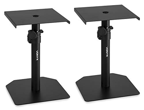 SMS10 Studio Monitor Table Stand Set