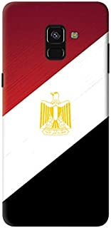 Stylizedd Samsung Galaxy A8 Plus (2018) Slim Snap Case Cover Matte Finish - Flag Of Egypt