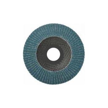 20 St/ück F/ächerscheiben 115 x 22,23 mm Korn 40//60//80//120 f/ür Holz und Metall F/ächerscheibe Schleifmopteller