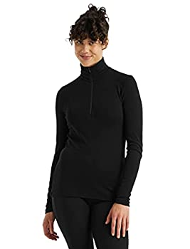 Icebreaker Merino Women s WMNS 175 Everyday Ls Half Zip Black M