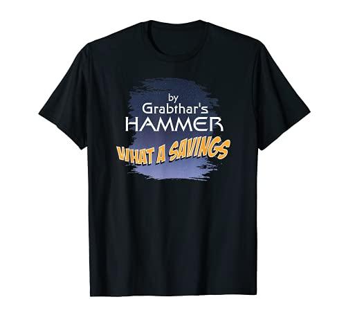 Grabthar's Hammer SciFi Novelty Outer Space Design T-Sh