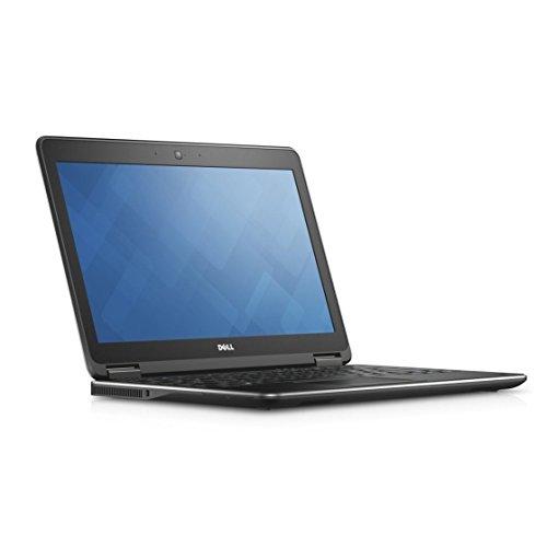 Dell Latitude E7250 Intel Core i5-5300U X2 2.3GHz 8GB 256GB SSD 12.5', negro (reacondicionado certificado)