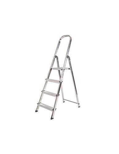 Escalera Rolser Aluminio Unica 4 Peldaños