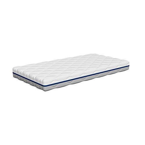 Tecnocolchón - | Colchón de Cuna Lavable Air Clean | 117 x 57 cm y Altura 11 cm | Funda Desinfectable a 60°C | Reversible Verano e Invierno | Transpirable | Certificados Oeko-Tex® y CertiPUR