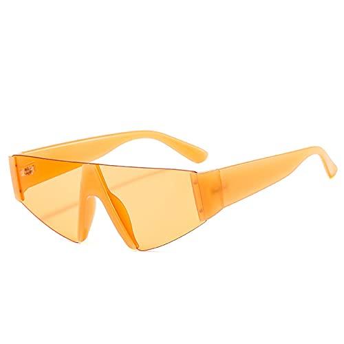 Gafas de Sol Sunglasses Gafas De Sol para Mujer, Hombre, Triángulo Cuadrado, Ojos De Gato Personalizados, Gafas De Sol Coloridas, Gafas De Tendencia, Gafas Uv400, Tonos C