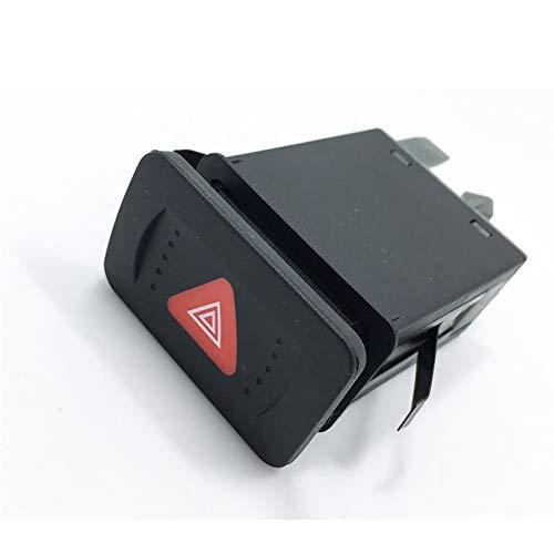 TSP Autozubehör, Autoschalter und Relais, 1 Stück, OEM-Schalter, Warnblinkschalter für Jetta 4 Bora, Golf MK4 1J0 953 235 C