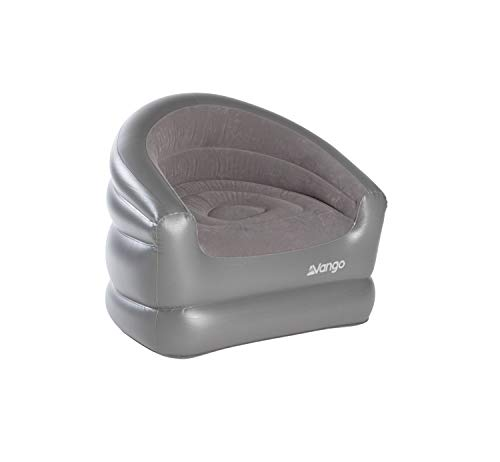 Vango Aufblasbarer Stuhl, Nocturne Grau, Standard