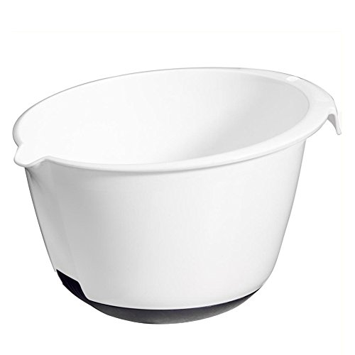 CURVER | Bol à mixer 1.8L, Blanc, 21,6 x 24,5 x 25 cm, Plastique