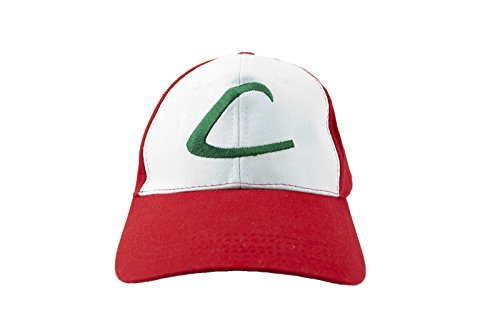 Pokemon Anime Ash Ketchum Cosplay Cap