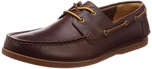 Clarks Morven Sail Mens Boat Shoes 8 UK/42 EU Britisch Bräunen
