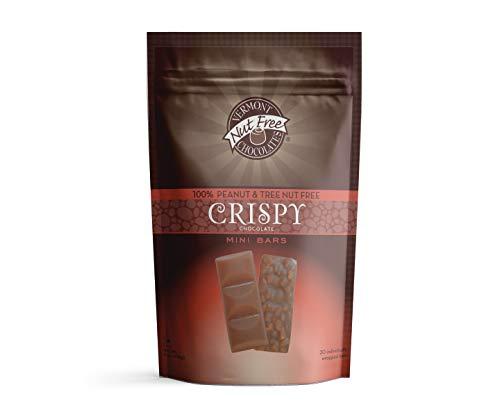 Vermont Fashionable Nut Free Chocolates Mini 67% OFF of fixed price Chocolate Crispy Chocolat Bars