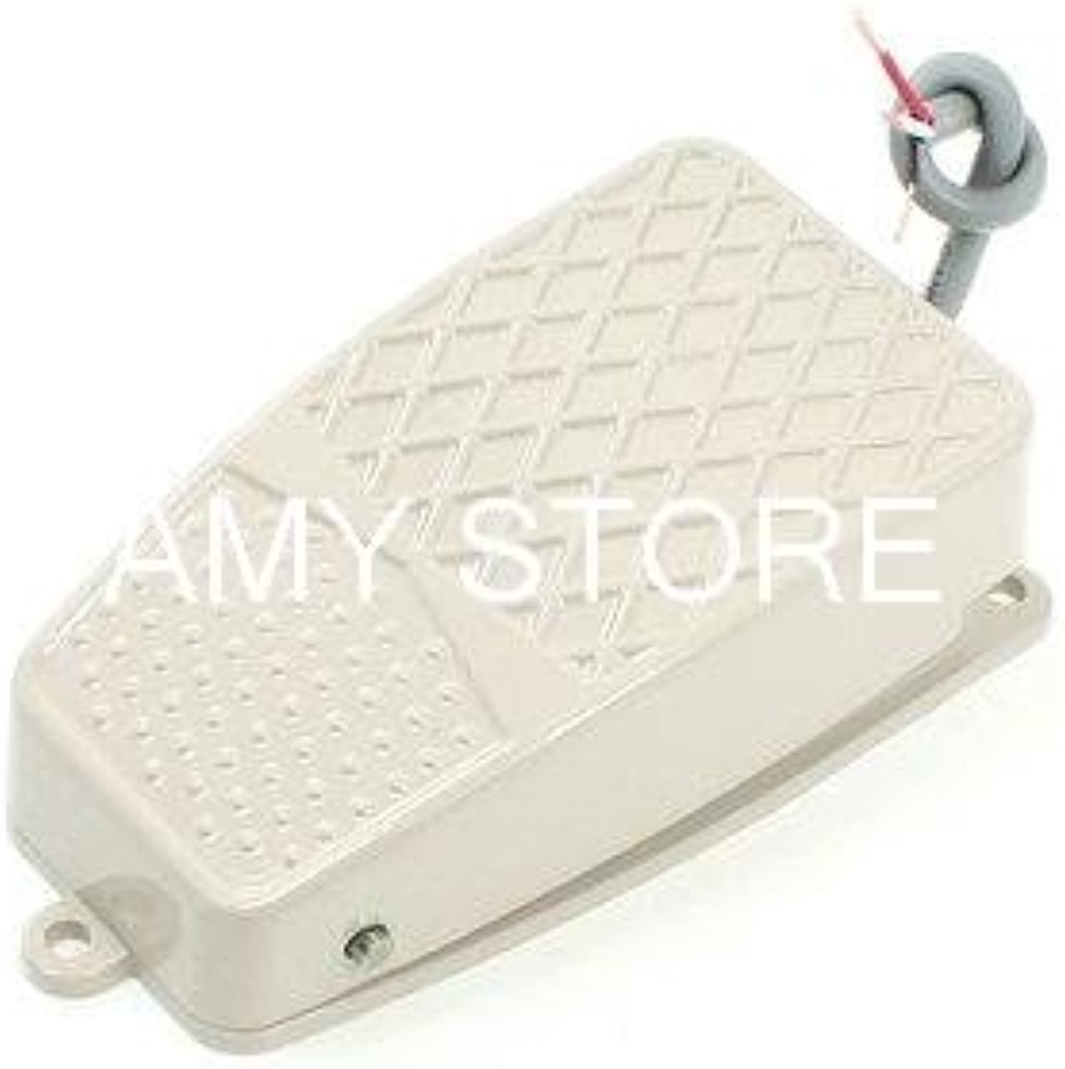 Nonslip Momentary Contact Wired Treadle Switch AC 220V 10A
